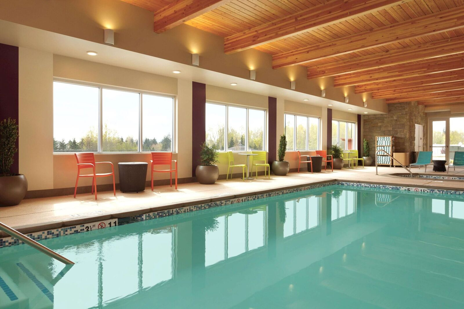 Indoor Hotel Pool Erck Hotel Management