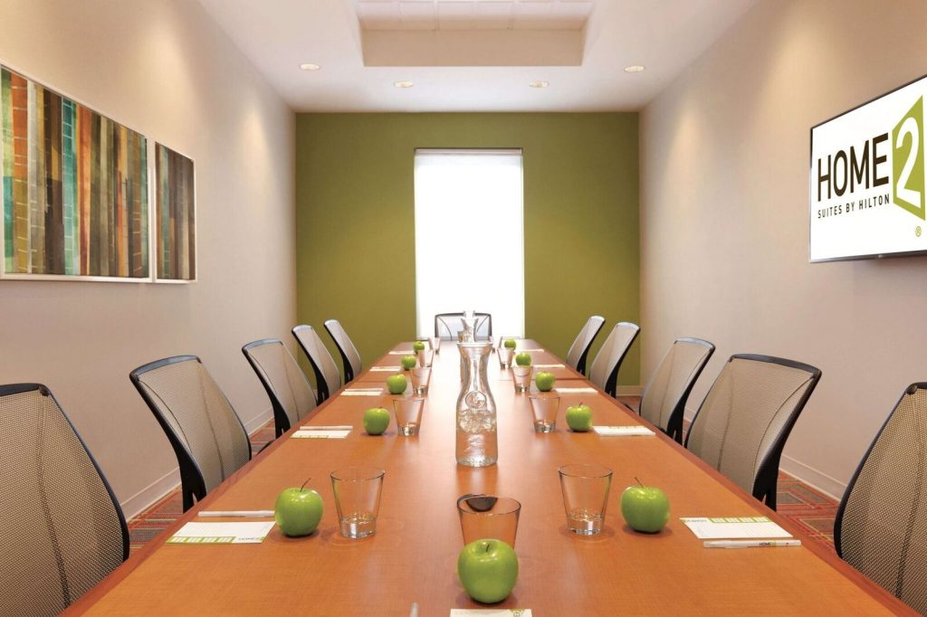 Home2 Hotel from Erck Hotels board room